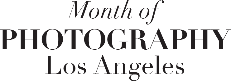 Month of Photography Los Angeles